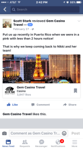 Gem Casino Travel